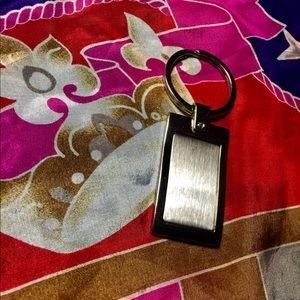 Accessories - Engraveable pewter keychain/luggage tag
